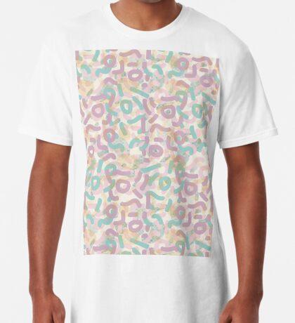 Funny Mess #redbubble #abstractart Long T-Shirt