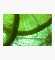 Reve de Citron Vert Photographic Print
