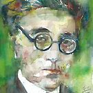 CONSTANTINE P. CAVAFY - watercolor portrait.3 by lautir