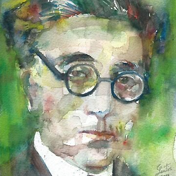 CONSTANTINE P. CAVAFY - watercolor portrait.3 by lautir
