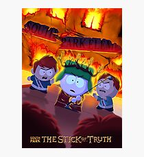 Lámina fotográfica South Park Stick of Truth Kyle