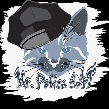 Police cat by MaikLegend