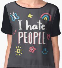 Blusa I hate people
