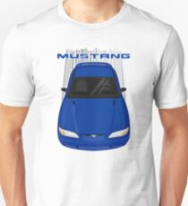 Mustang GT 1994 to 1998 SN95 - Blue Unisex T-Shirt