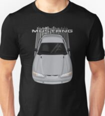 Mustang GT 1994 to 1998 SN95 - Silver Unisex T-Shirt