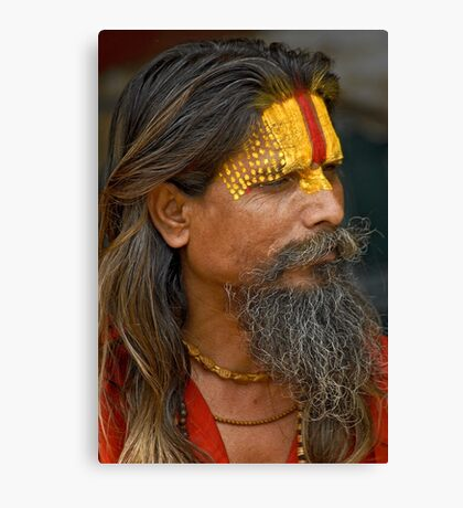 Sadhu (Holy man) Canvas Print