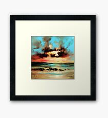 Barra Shore Framed Print