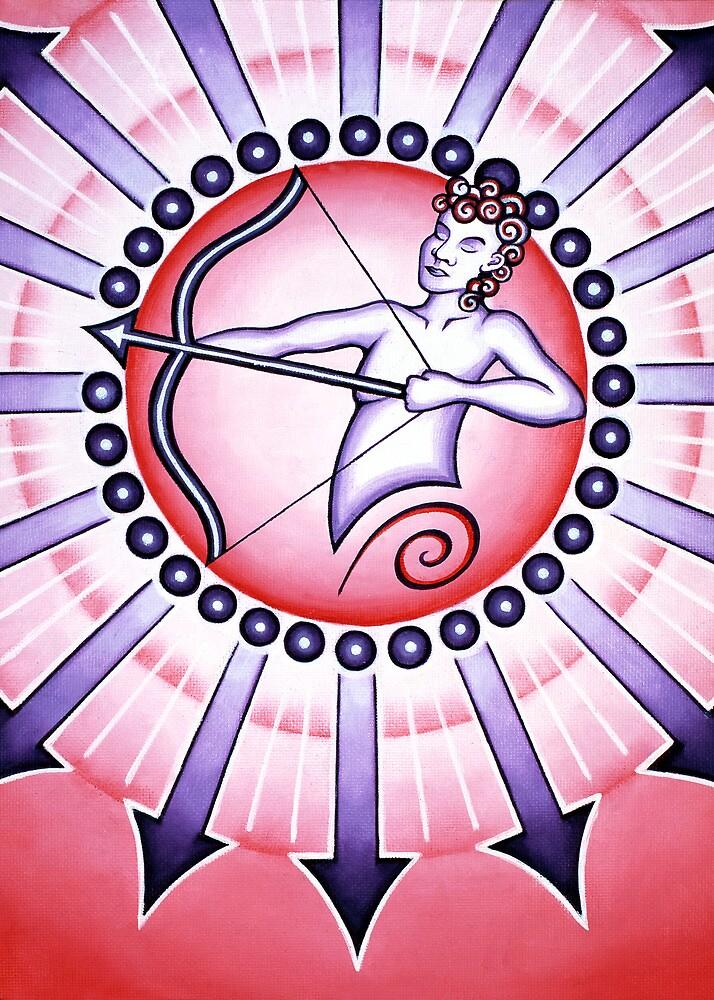 Sagittarius - Shoot your arrow throughout the world! by Sarah Jane Bingham