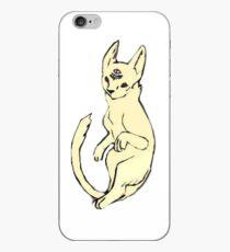 Vinilo o funda para iPhone Khoshekh - El gato flotante en el baño de los hombres