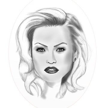 Yvonne Strahovski by Heat55wade
