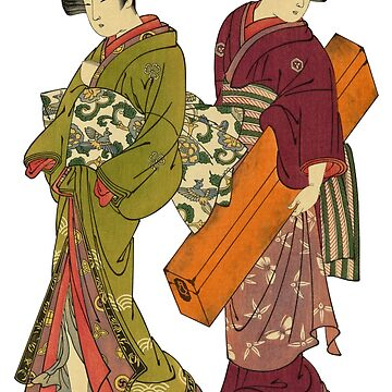 Two Geishas by BohoFruits