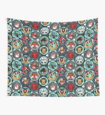 Hexagon zodiacs  Wall Tapestry