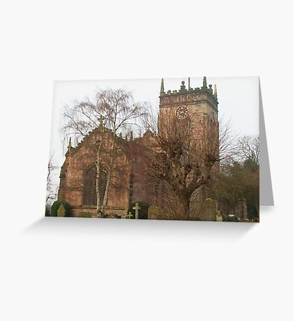 St. Mary's Church, Acton, Greeting Card