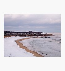 Winter At Ditch Plains Photographic Print