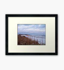 A Montauk Winter Framed Print