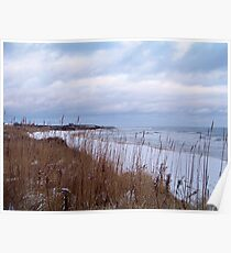 A Montauk Winter Poster