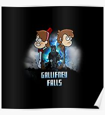 Gallifrey Falls Poster