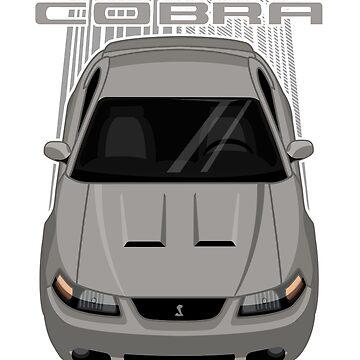 Mustang Cobra Terminator 2003 to 2004 - Grey by V8social