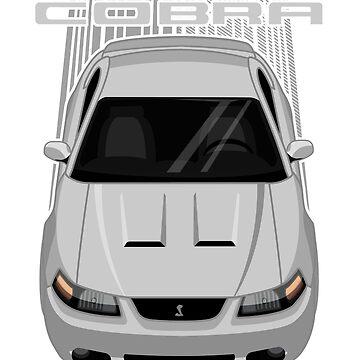 Mustang Cobra Terminator 2003 to 2004 - Silver by V8social
