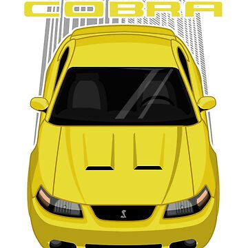 Mustang Cobra Terminator 2003 to 2004 - Yellow by V8social