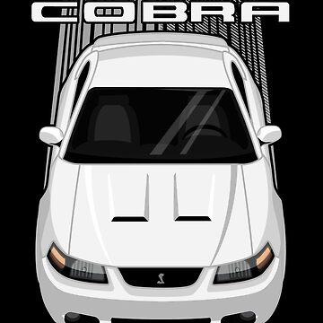 Mustang Cobra Terminator 2003 to 2004 - White by V8social