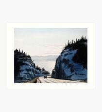 The Road to Nipigon Art Print