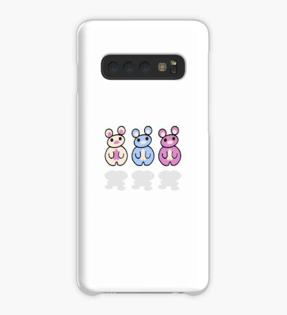 STPC: Three Chibis Case/Skin for Samsung Galaxy