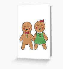 Mr et Mme Gingerbread  Carte de vœux