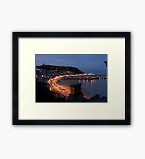 scarborough by night Framed Print