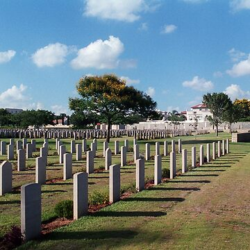 The British War Cemetery at Ramleh by stillmoment