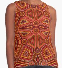 Abstract style of Australian Aboriginal art Contrast Tank
