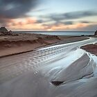 Porthcurno Sunrise by Andrew Hocking
