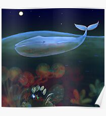 Unterwasserschlafzimmer Poster