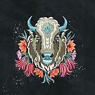 Wilder Büffel von Miriam Dornemann