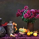 stil life with flowers by dagmar luhring