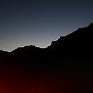 Nearly Midnight-Mountain by Matt Rhodes