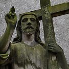 cementary statue  by danapace
