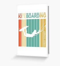 Kiteboarding West Coast Greeting Card