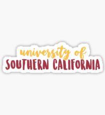 USC - Design 1 Sticker