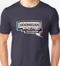 Camiseta ajustada Hoonigan racing division rojo azul blanco