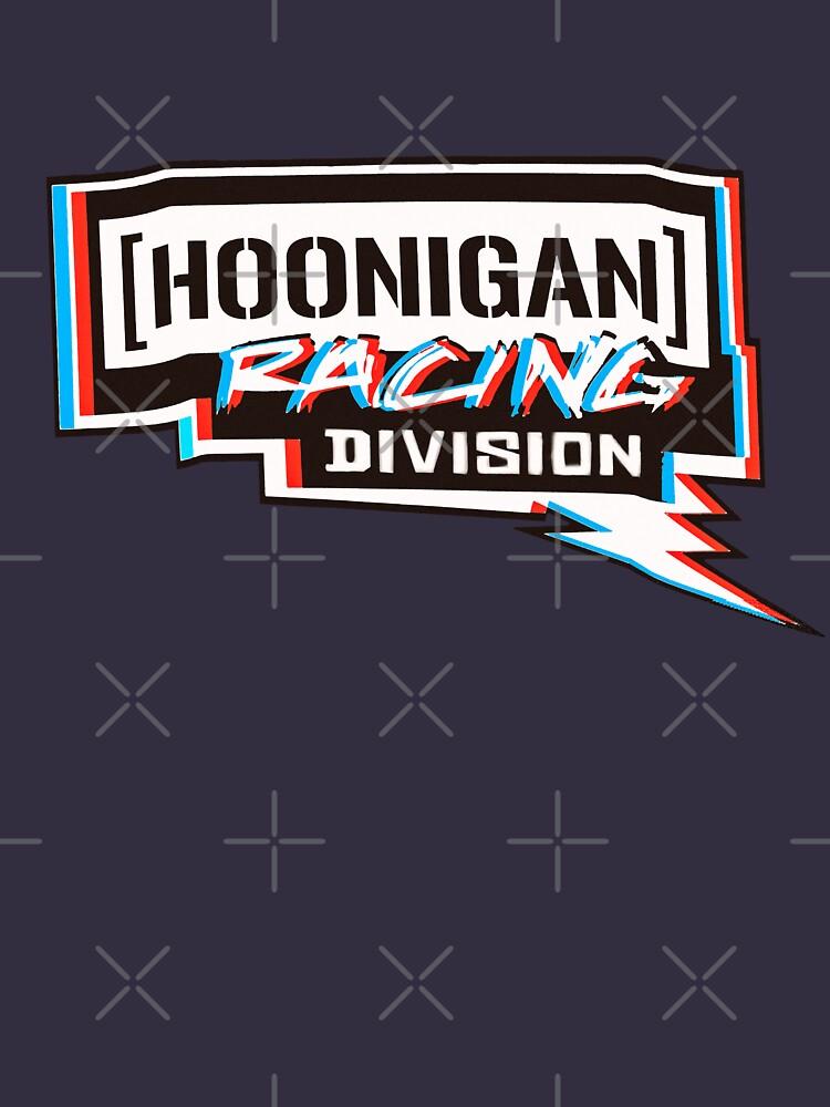 Hoonigan racing division rojo azul blanco de MimieTrouvetou
