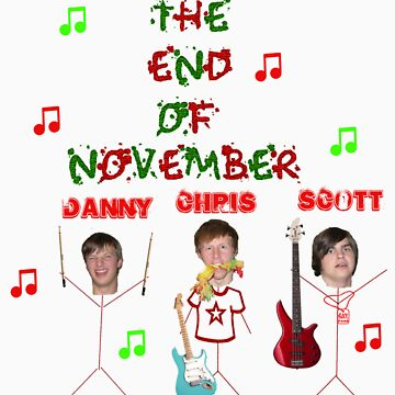 the end of November sticks with heads by EndofNovember