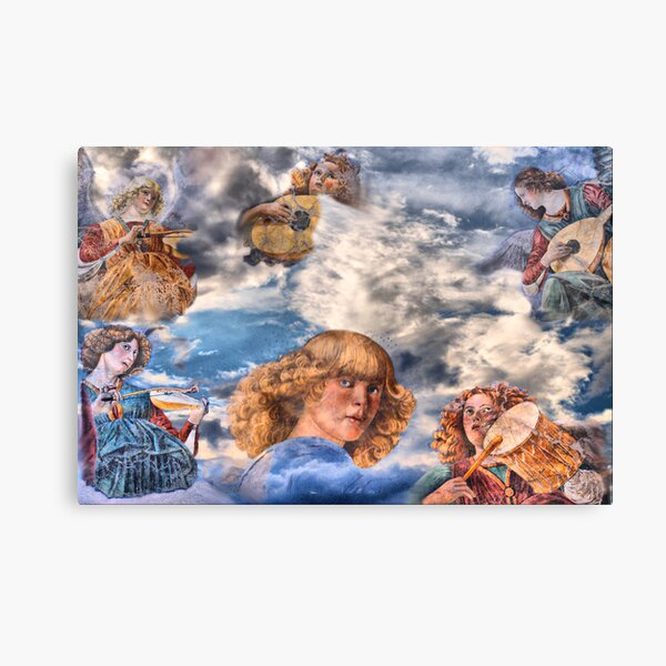Angels' jazz Canvas Print