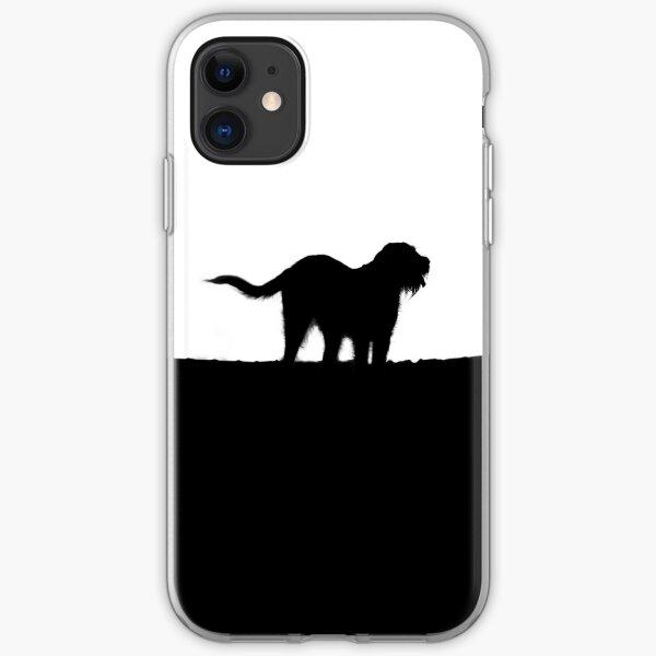 Italian Spinone Silhouette iPhone Soft Case