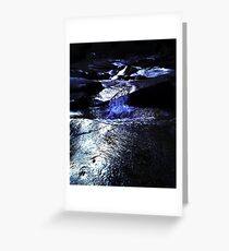 Night River of Mourne Greeting Card