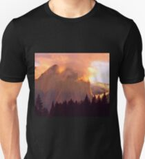 CATHEDRAL ROCKS ON FIRE Unisex T-Shirt