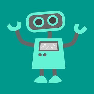 Cute Robot by SterlingTales