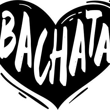 bachata heart black by feelmydance