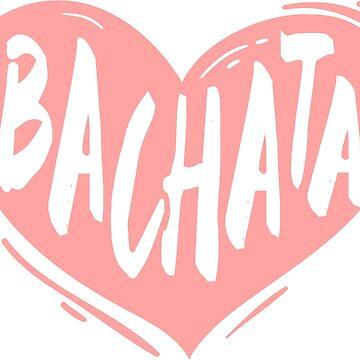 bachata heart pink by feelmydance