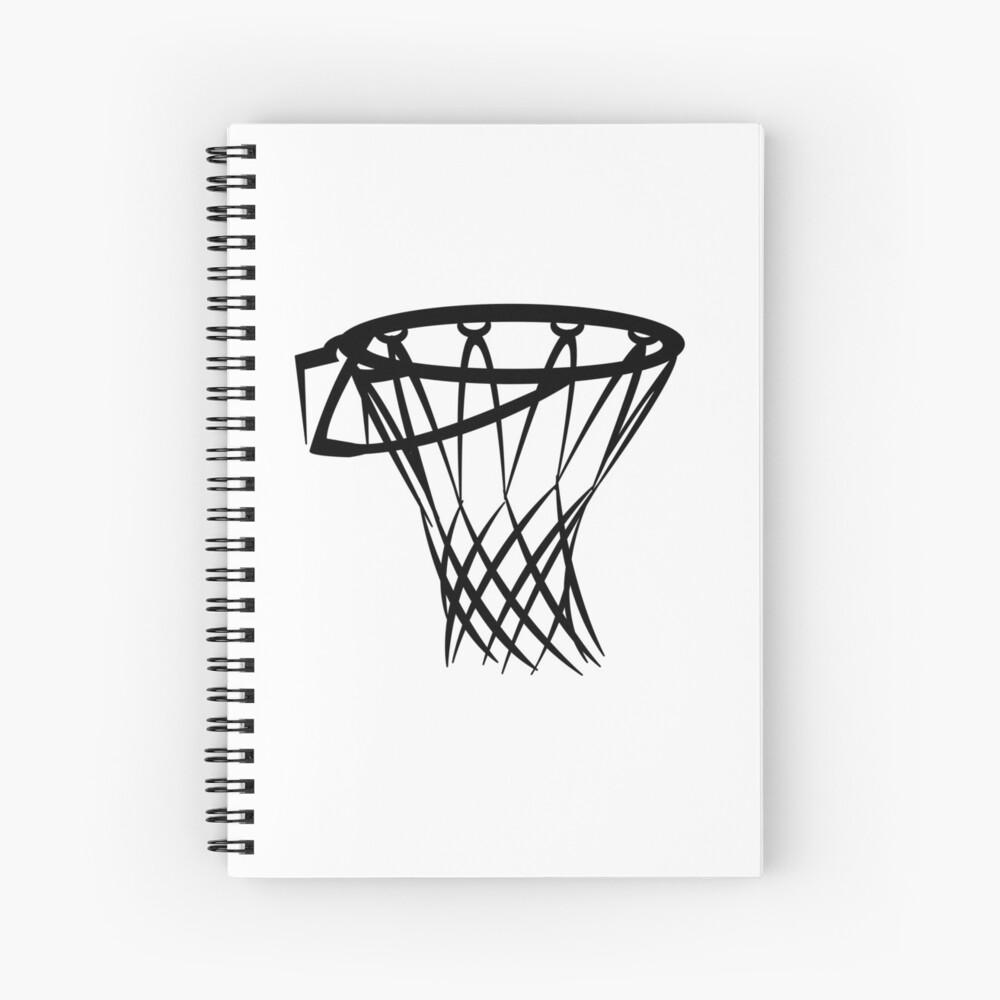 Basketball basketball hoop Spiral Notebook